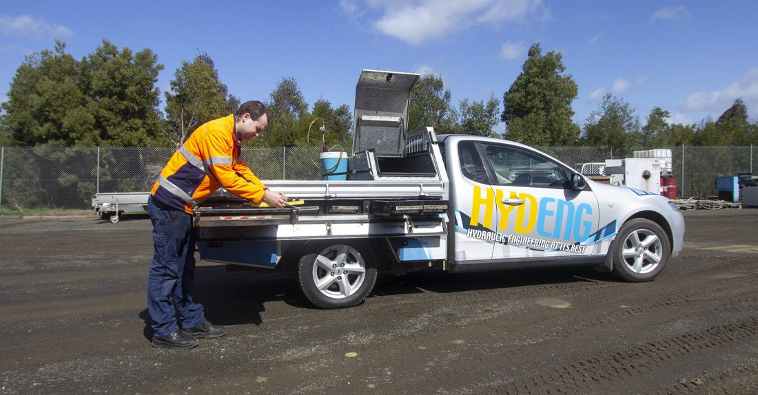 Someone that specialises in hydraulic equipment near Gippsland