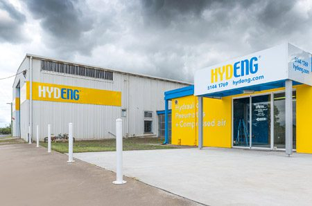 Hydeng workshop and office in Sale